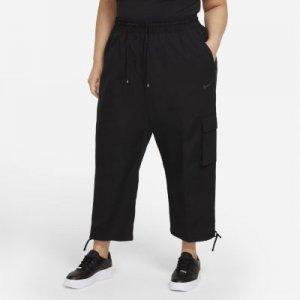 Женские брюки Sportswear Icon Clash (большие размеры) - Черный Nike