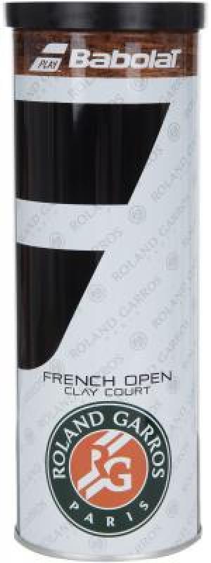 Набор мячей для большого тенниса Ball French Open X 3 Babolat. Цвет: желтый