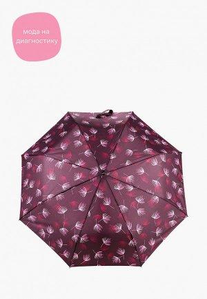 Зонт складной Doppler. Цвет: фиолетовый