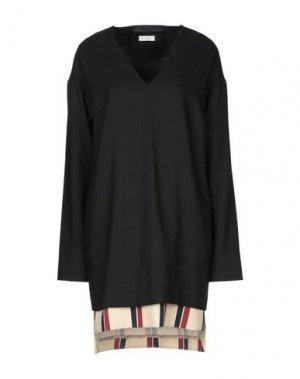 Короткое платье DRIES VAN NOTEN. Цвет: черный