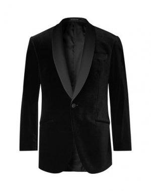 Пиджак RICHARD JAMES. Цвет: черный