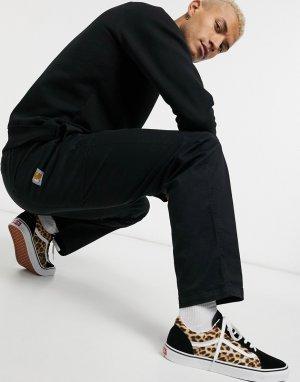 Черные брюки -Черный Carhartt WIP