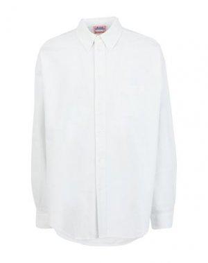 Джинсовая рубашка ACNE STUDIOS BLÅ KONST. Цвет: белый