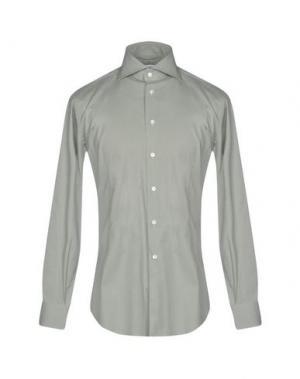 Pубашка BRANCACCIO. Цвет: светло-зеленый
