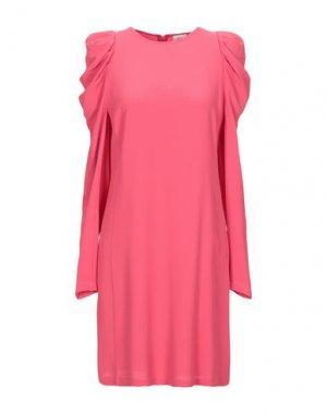 Короткое платье ATTIC AND BARN. Цвет: коралловый