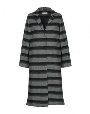 Легкое пальто LA FABRIQUE. Цвет: серый
