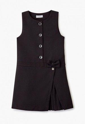 Платье Alessandro Borelli Milano. Цвет: черный