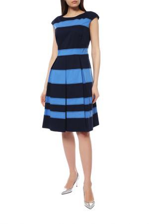 Платье Basler. Цвет: черный, синий
