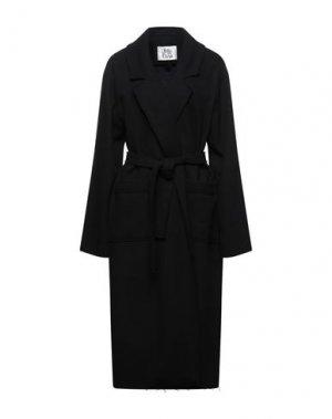 Легкое пальто ATTIC AND BARN. Цвет: черный