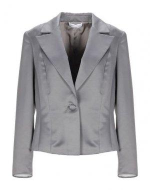 Пиджак CARLO PIGNATELLI CERIMONIA. Цвет: серый