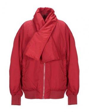 Куртка CHEAP MONDAY. Цвет: красный