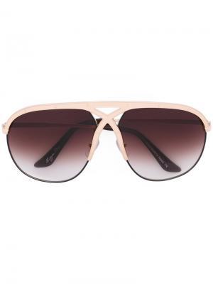 Солнцезащитные очки Voracious Frency & Mercury. Цвет: металлический