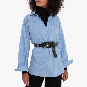 Блузка-туника LaRedoute. Цвет: синий