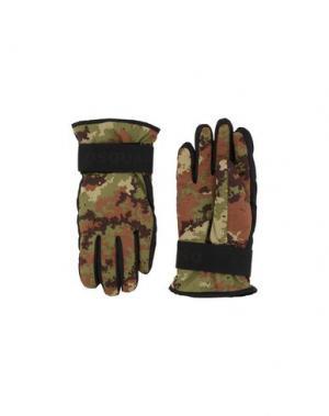 Перчатки DSQUARED2. Цвет: зеленый-милитари