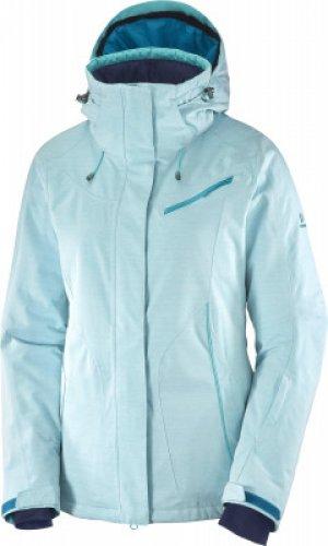 Куртка утепленная женская Fantasy, размер 48-50 Salomon. Цвет: голубой