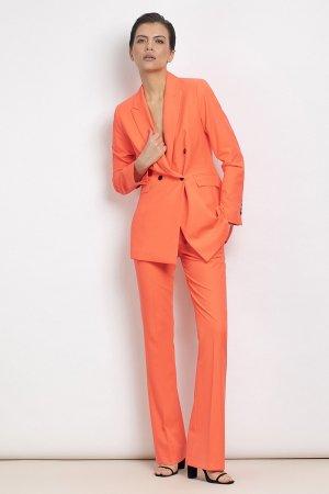 Брюки расклешенные от колена VASSA&Co. Цвет: оранжевый