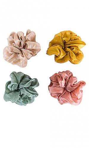 Резинка для волос frances 8 Other Reasons. Цвет: зеленый,розовый