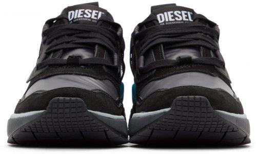 Black S-Brentha WL Sneakers Diesel. Цвет: h8449 shdw