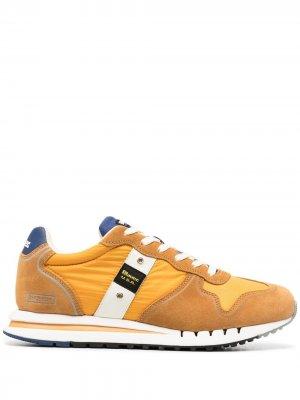 Кроссовки Quartz 01 Blauer. Цвет: желтый