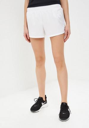Шорты спортивные Nike 10K WOMENS RUNNING SHORTS. Цвет: белый