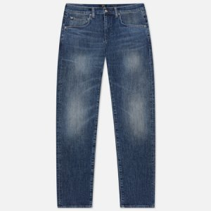 Мужские джинсы ED-55 CS Yuuki Blue Denim 12.8 Oz Edwin. Цвет: синий