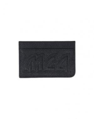 Чехол для документов McQ Alexander McQueen. Цвет: черный