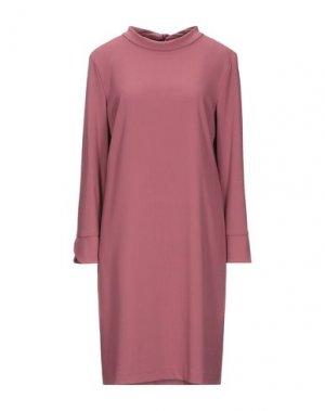 Короткое платье SEVENTY SERGIO TEGON. Цвет: пастельно-розовый