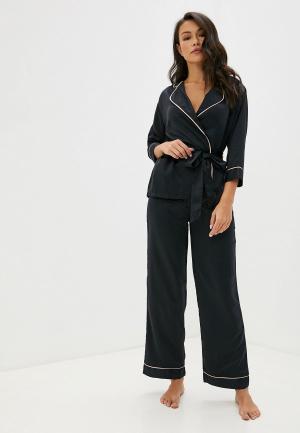 Пижама Bluebella. Цвет: черный