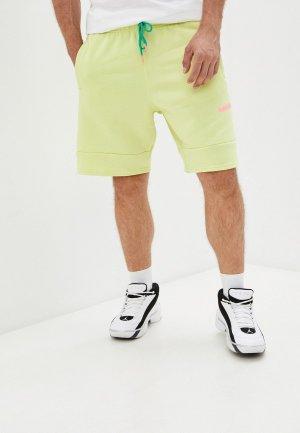 Шорты спортивные Jordan M J JUMPMAN AIR FLC SHORT. Цвет: зеленый