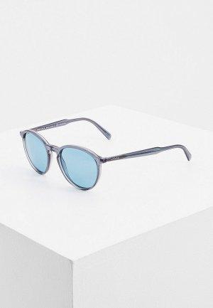 Очки солнцезащитные Prada PR 05XS 01G04D. Цвет: серый