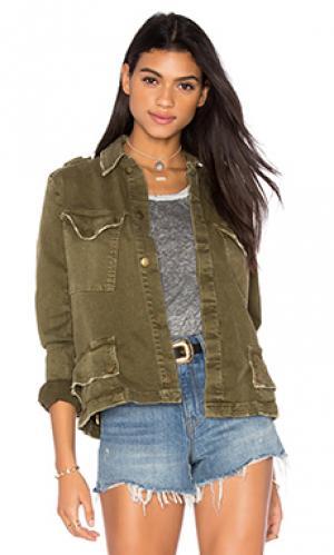 Куртка милитари the slant pocket Current/Elliott. Цвет: военный стиль