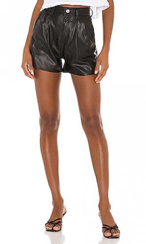 Кожаные шорты LEVIS LEVI'S. Цвет: черный
