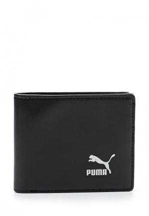 Кошелек PUMA Originals Billfold Wallet. Цвет: черный
