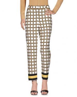 Повседневные брюки ATOS LOMBARDINI. Цвет: белый