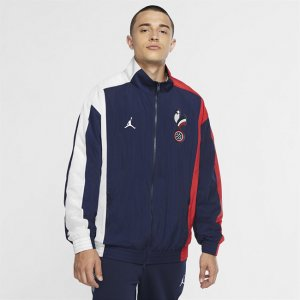 Мужская спортивная куртка France Air Jordan - Синий Nike