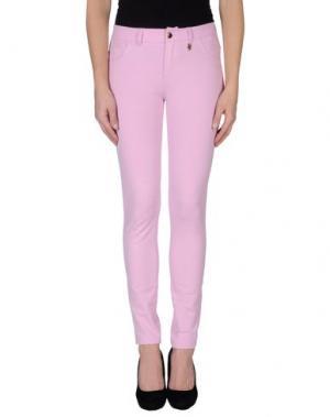 Повседневные брюки MET. Цвет: светло-фиолетовый