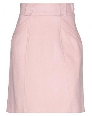 Мини-юбка BLUMARINE. Цвет: розовый