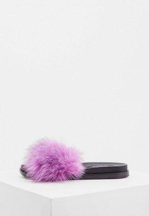 Сабо Jog Dog. Цвет: фиолетовый