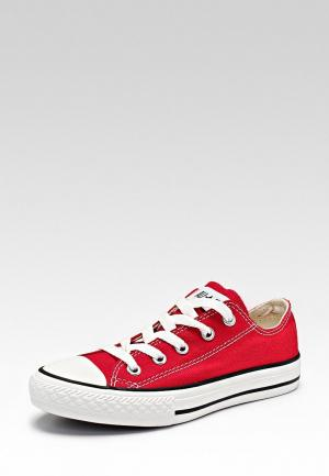 Кеды Converse YTHS C/T ALL STAR OX RED. Цвет: красный