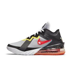 "Баскетбольные кроссовки LeBron 18 Low ""Sylvester vs Tweety"" - Белый Nike"