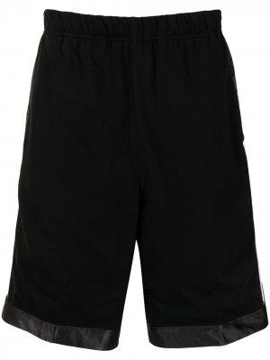 Side-logo reversible track shorts AAPE BY *A BATHING APE®. Цвет: черный