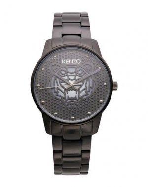 Наручные часы KENZO. Цвет: черный