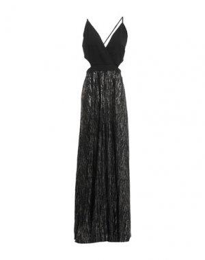 Длинное платье BRAND UNIQUE. Цвет: черный