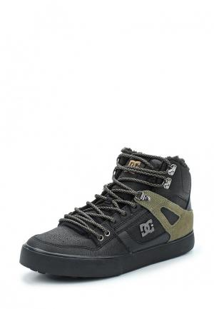 Кеды DC Shoes SPARTAN. Цвет: черный