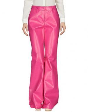 Повседневные брюки AU JOUR LE. Цвет: фуксия