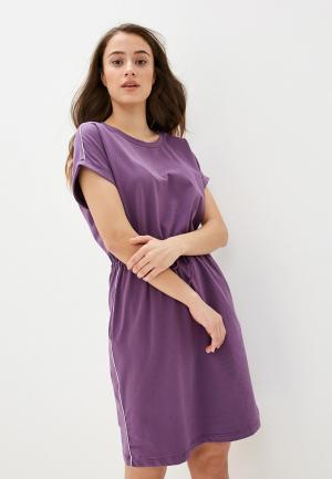 Платье Baon. Цвет: фиолетовый