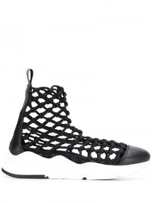 Сетчатые кроссовки Grey Mer. Цвет: черный