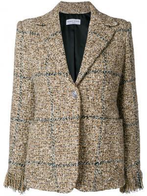 Твидовый пиджак на пуговицах Sonia Rykiel