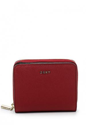 Кошелек DKNY DK001BWQZL01. Цвет: красный
