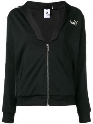 Куртка-бомбер на молнии с логотипом Karl Lagerfeld